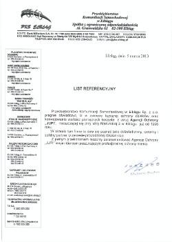 Referencja PKS Elbląg dla JUPI Elbląg